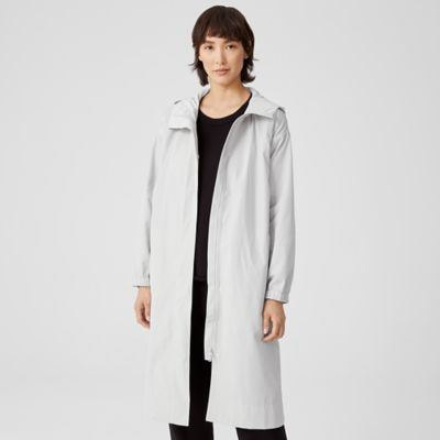Recycled Polyester Hooded Coat