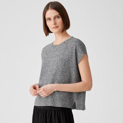 Organic Linen Cotton Twist Square Top