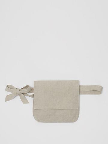 Organic Linen Belt Bag