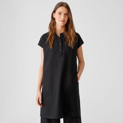 Organic Linen Shirtdress