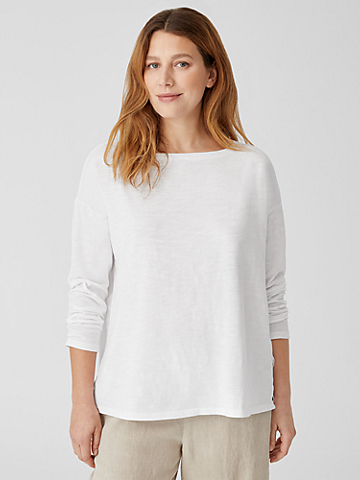 Organic Cotton Slub Box-Top