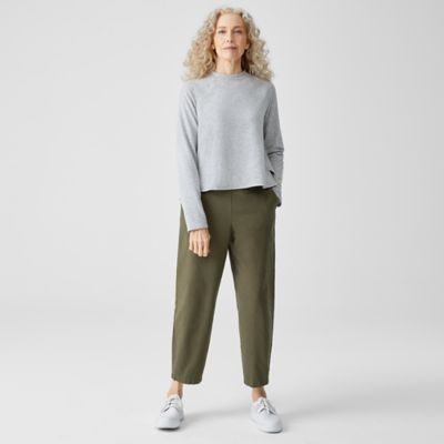 Organic Cotton Hemp Lantern Ankle Pant