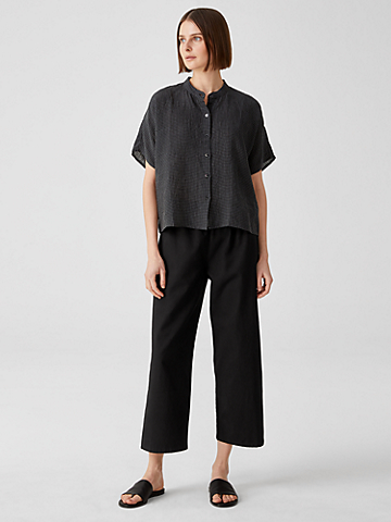 Organic Cotton Hemp Straight Pant