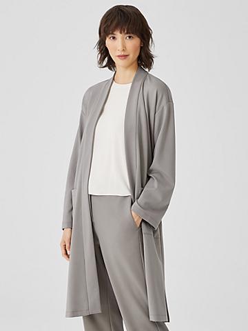 Flex Ponte Belted Jacket