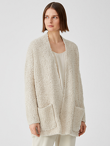 Knit Fur Cardigan