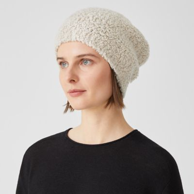 Knit Fur Hat
