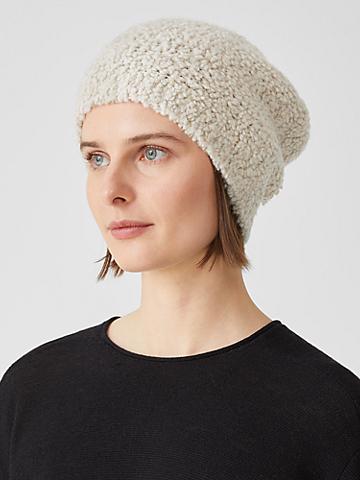 Knit Fur Hat