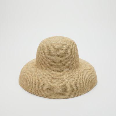 Mar Y Sol for EILEEN FISHER Raffia Bucket Hat