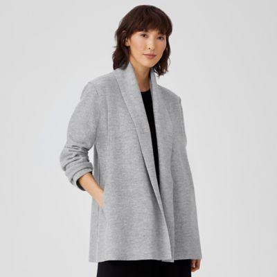 Lightweight Boiled Wool Jacket in Responsible Wool