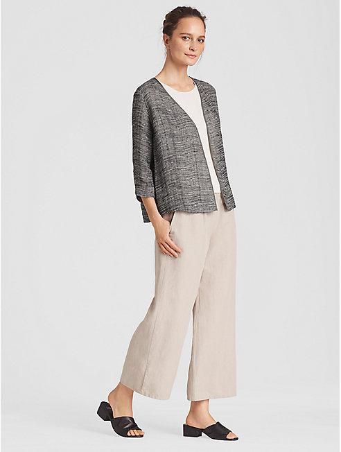 Organic Linen Gauze Kimono Jacket