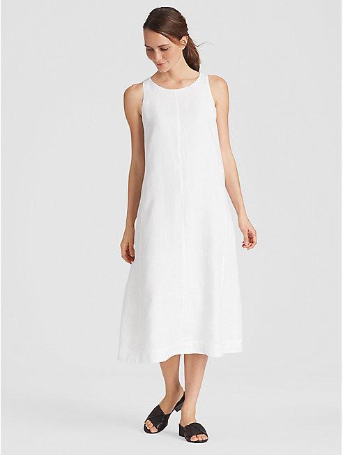 Organic Handkerchief Linen A-Line Dress