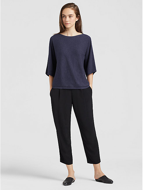 Seamless Italian Cashmere Box-Top