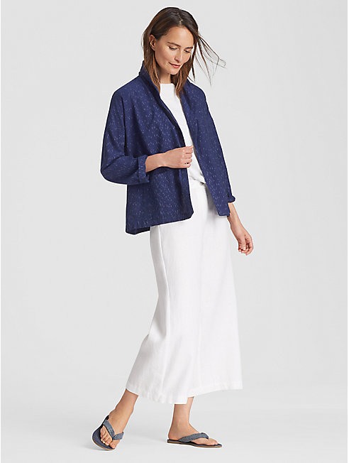 Exclusive Droplet Organic Cotton Kimono Jacket