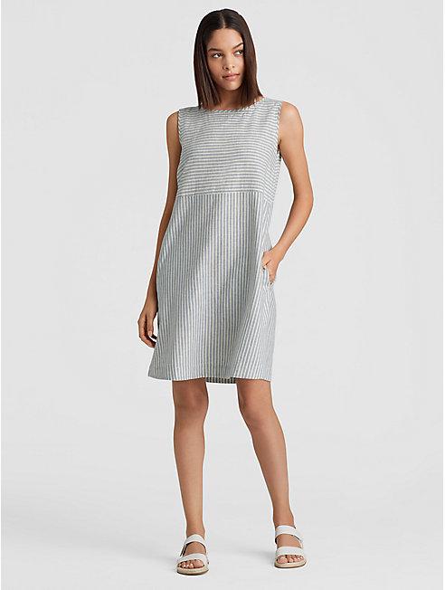 Hemp Organic Cotton Stripe Dress