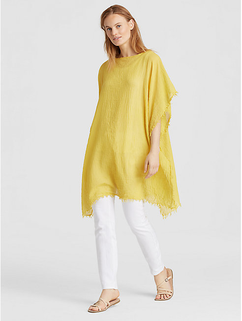 Lightweight Organic Cotton Poncho