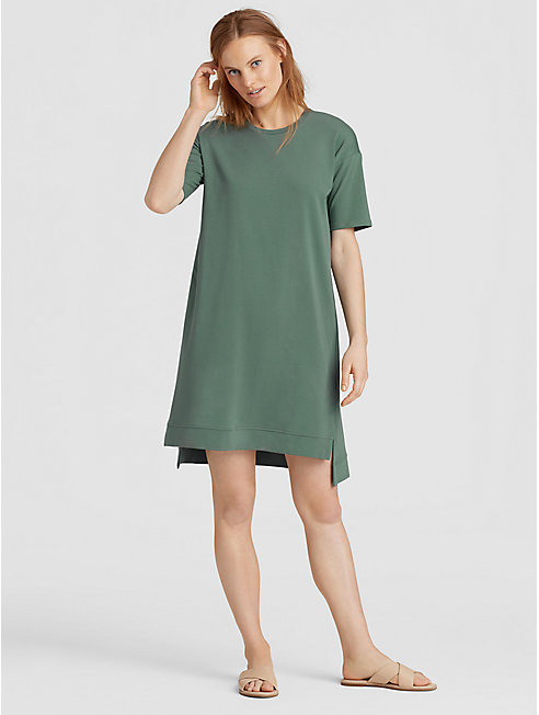 Organic Cotton Jersey A-Line Dress