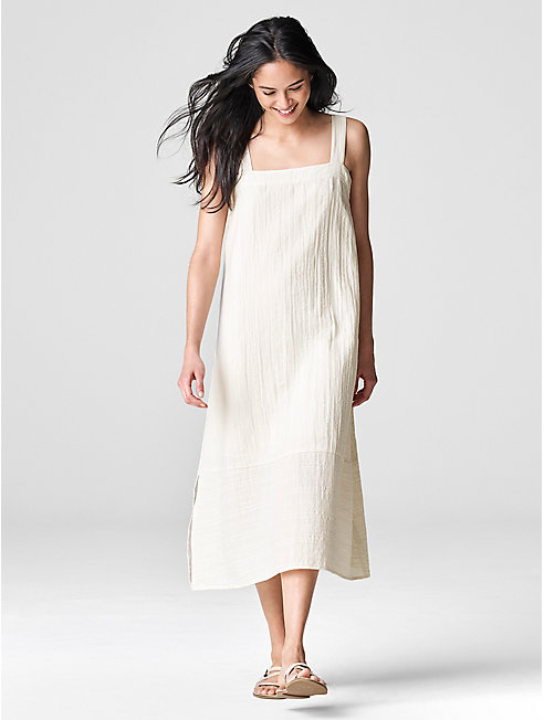 Exclusive Organic Cotton Stripe Sundress