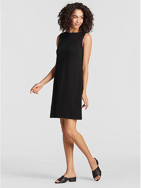 Tencel Ponte Shift Dress