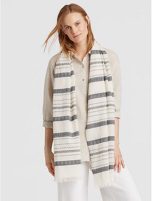 Organic Cotton Linen Scarf