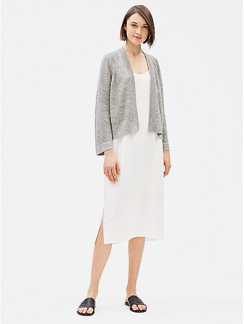 Organic Linen Cotton Mélange Cardigan