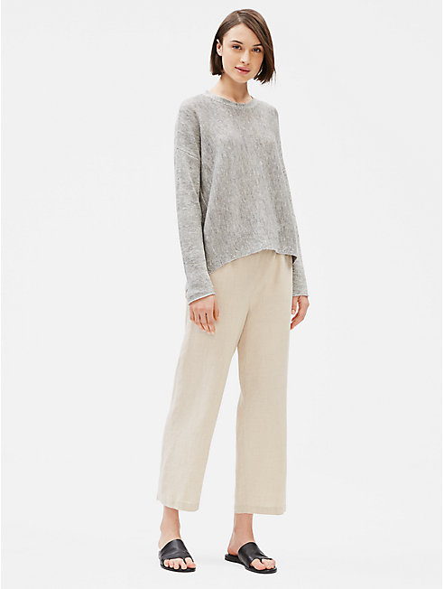 Organic Linen Cotton Melange Top