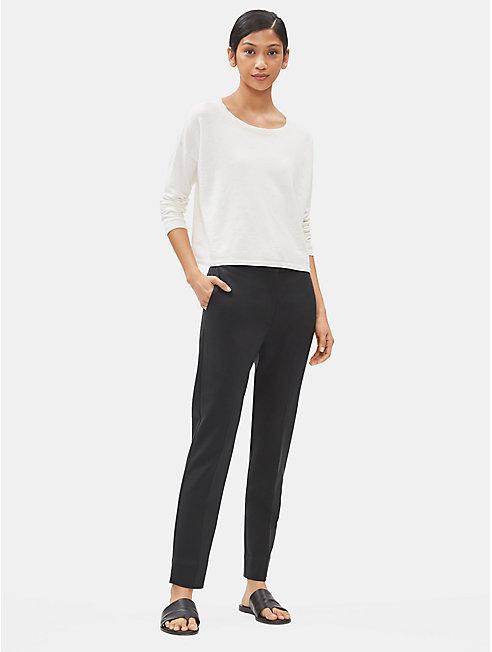 Tencel Stretch Slim Trouser