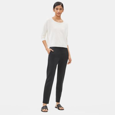 Tencel Stretch Slim Trouser