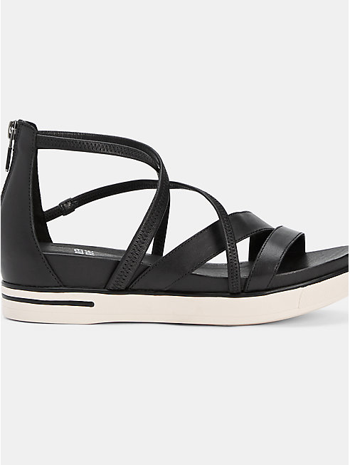 Skip Washed Leather Sneaker Sandal