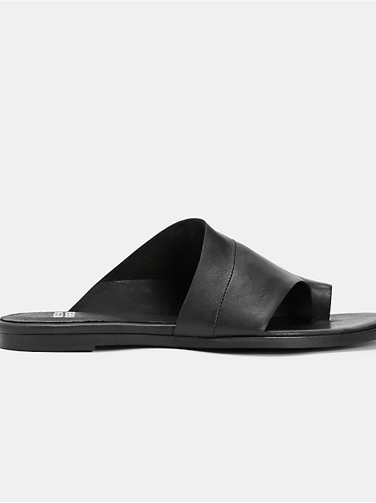 2f03216e66d6c BLACK QUICK VIEW. BLACK. Ty Washed Leather Slide