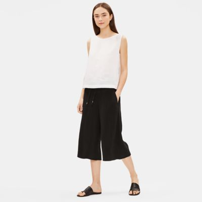 Organic Cotton Gauze Culotte Pant