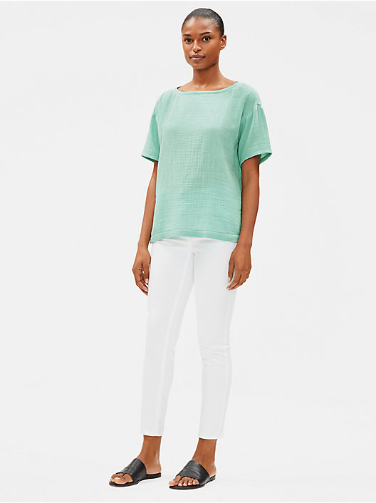 1cfc710c Petite Tunic Tops and Womens Shirts | EILEEN FISHER