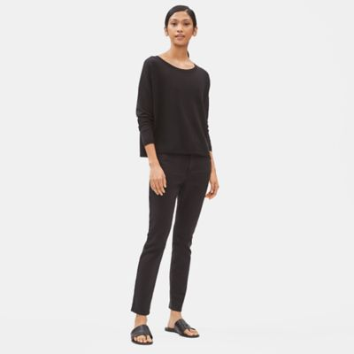 Organic Cotton Skinny Ankle Jean