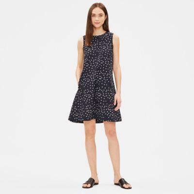 Hand-Printed Organic Cotton Dress