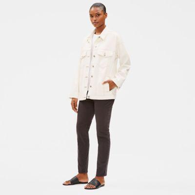 Undyed Organic Cotton Denim Jacket