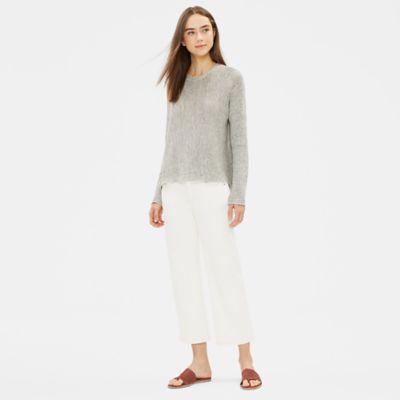 Undyed Organic Cotton Straight Jean