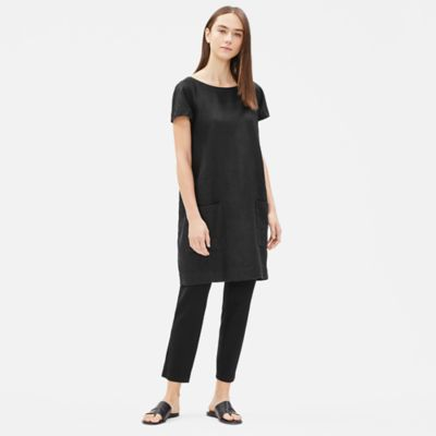 Heavy Organic Linen Shift Dress