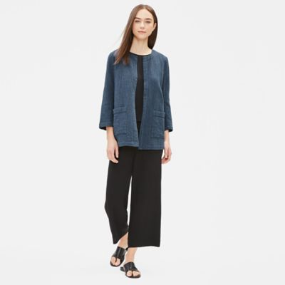 Indigo Organic Cotton Jacket