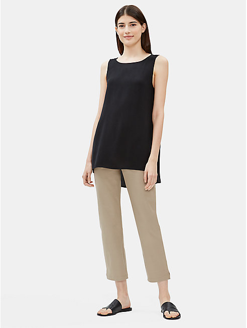 Organic Cotton Slim Pant