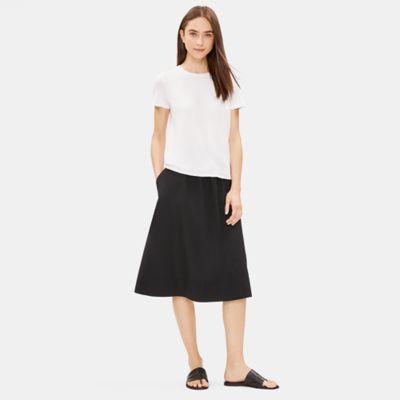 Organic Cotton Gathered Skirt