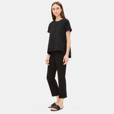 Organic Cotton Short-Sleeve Top