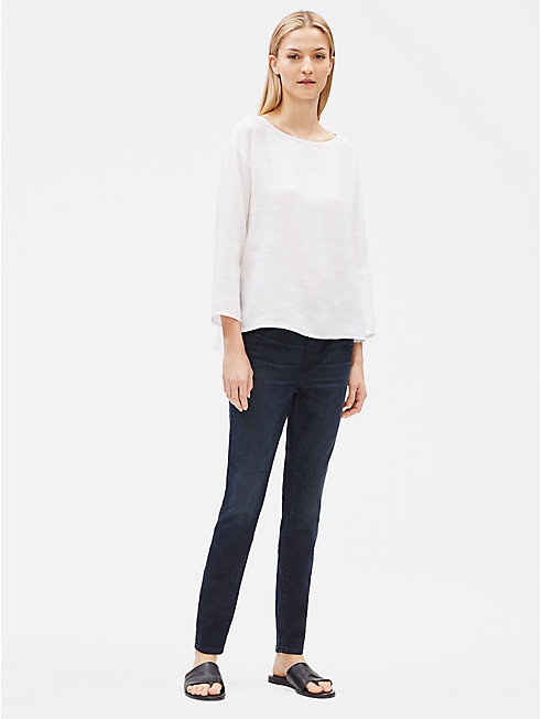 Organic Cotton Stretch Jean Leggings