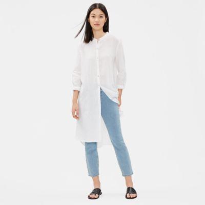 Organic Cotton Stretch Cropped Jean Leggings
