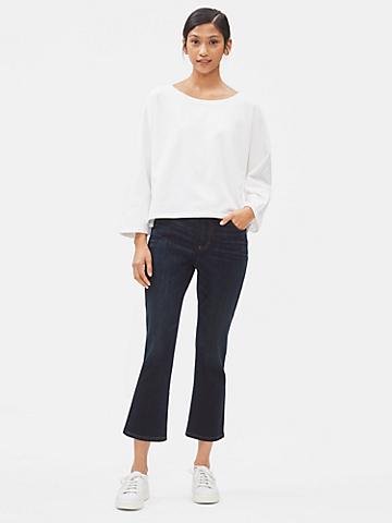 Organic Cotton Stretch Boot-Cut Jean