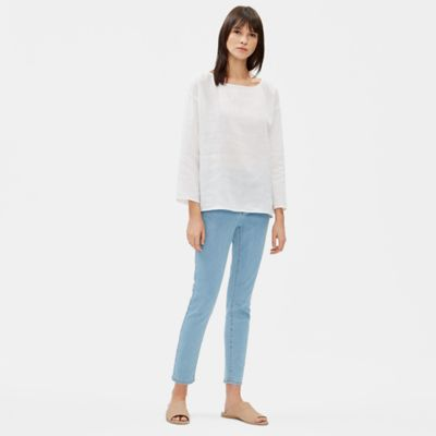 Organic Cotton Stretch Skinny Ankle Jean