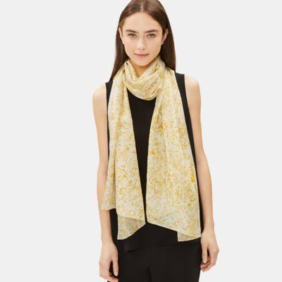 Marigold Natural-Dyed Silk Scarf