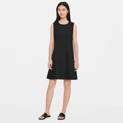 Organic Cotton Poplin A-Line Dress