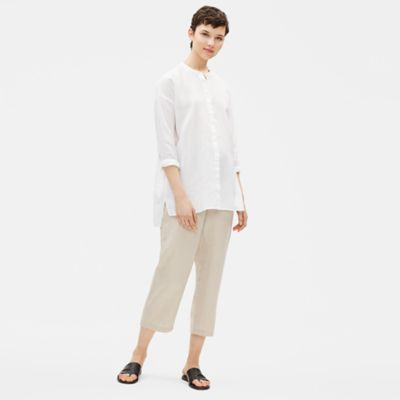 Organic Handkerchief Linen Boxy Shirt