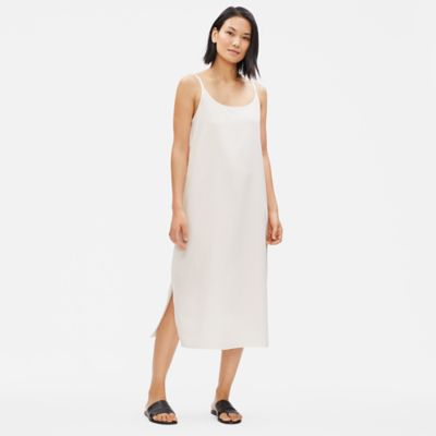 Sandwashed Tencel Slip Dress