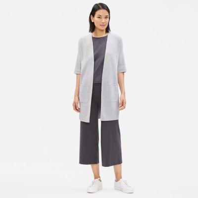 Organic Cotton Silk Cardigan