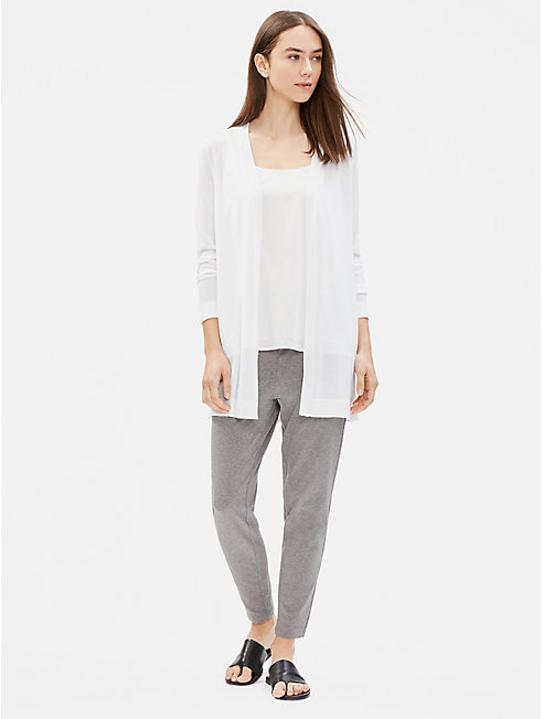 Tencel Stretch Long Cardigan